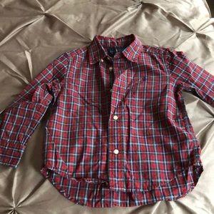 Ralph Lauren button down long sleeved shirt